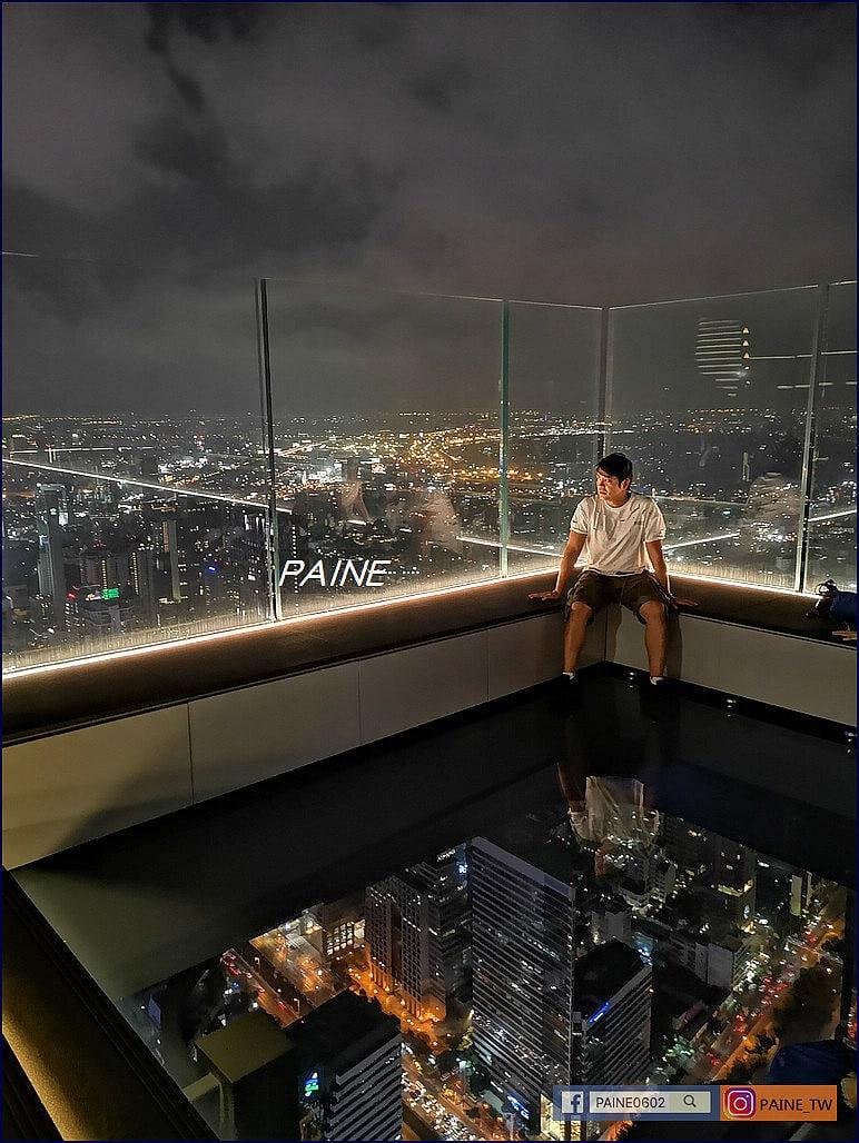 曼谷玻璃空中步道