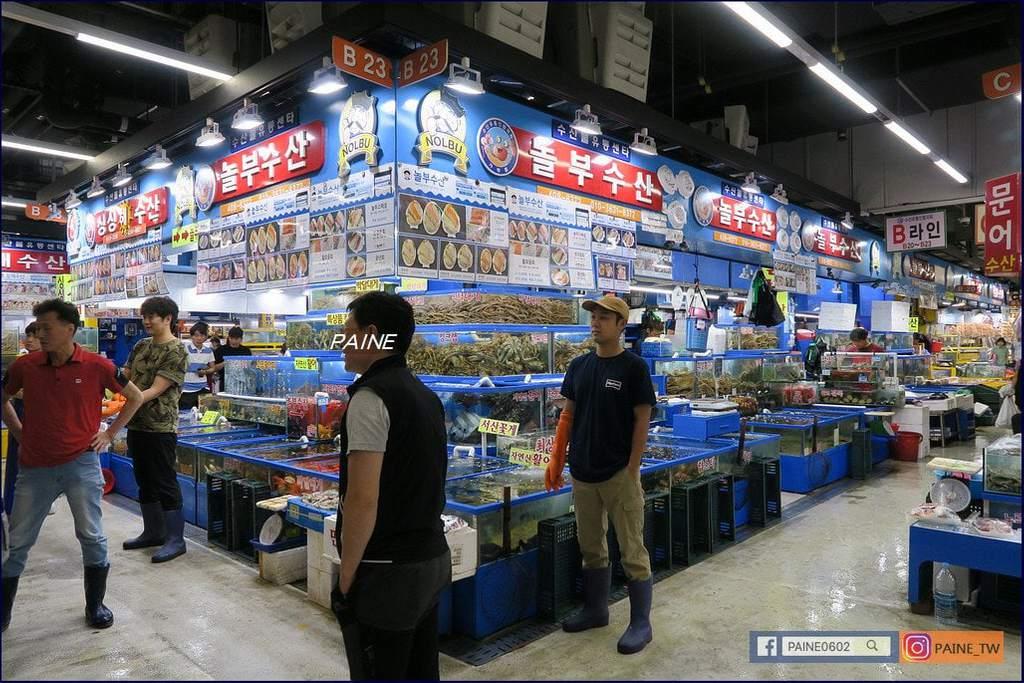 可樂水產市場