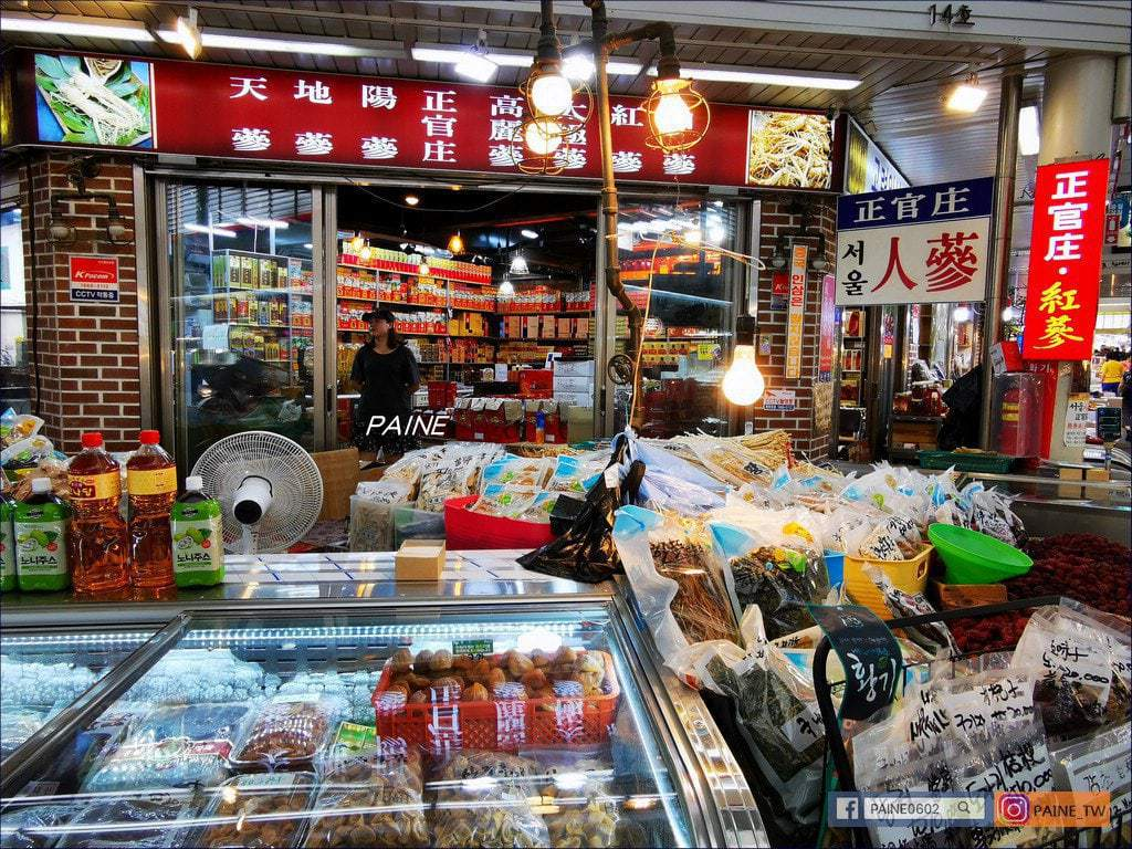 首爾中部市場