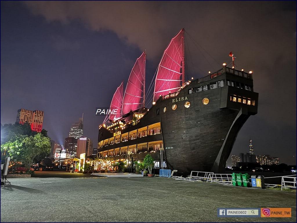 夜遊西貢河